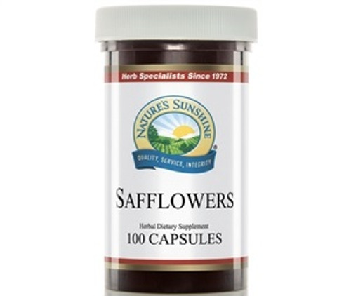 Nature's Sunshine Safflowers 100 Capsules #600-2