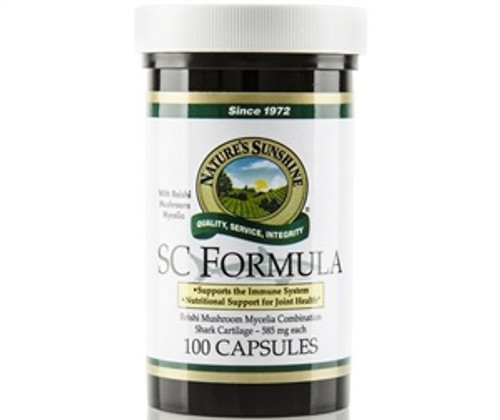 Nature's Sunshine SC Formula Shark Cartilage 100 Capsules #1602-8