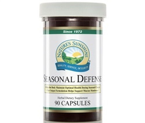 Nature's Sunshine Seasonal Defense 100 Capsules #806-6