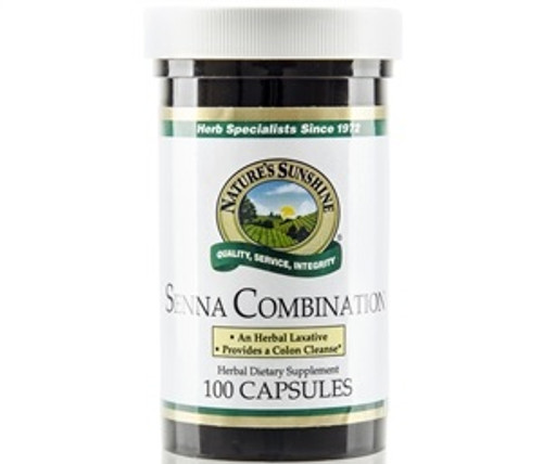 Nature's Sunshine Senna Combination 100 Capsules #650-5