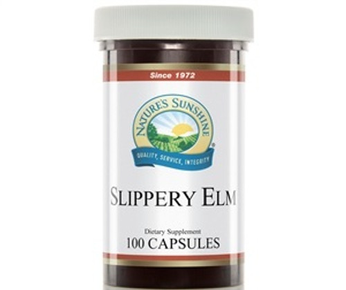 Nature's Sunshine Slippery Elm 100 Capsules #670-7