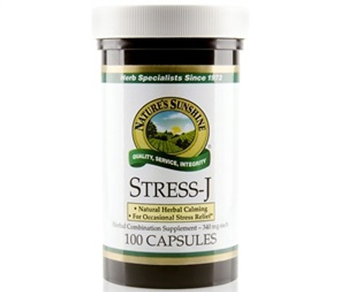 Nature's Sunshine Stress-J (formerly STR-J) 100 Capsules #1084-1