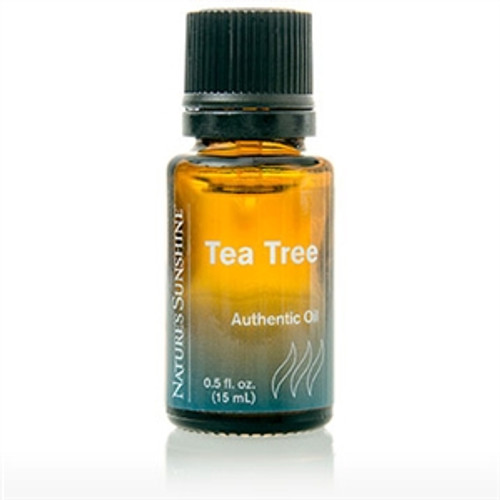 Nature's Sunshine Tea Tree Oil 0.5 fl. oz., Invigorating scent May be applied neat on the skin.