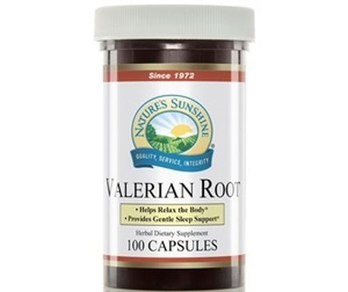 Nature's Sunshine Valerian Root 100 Capsules #720-0
