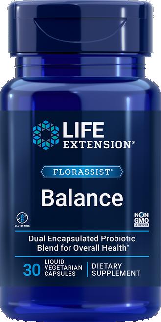 Life Extension Florassist Balance 30 liquid Veg. Capsules