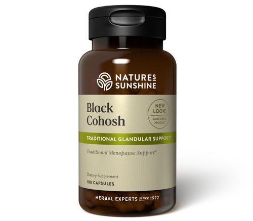 Nature's Sunshine Black Cohosh 100 Capsules #80-3