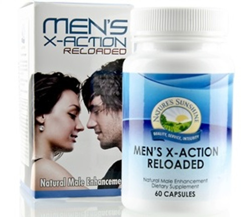 Nature's Sunshine X-Action Reloaded 60 Capsules #1133-9