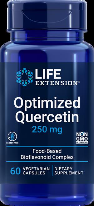 Life Extension Optimized Quercetin 250 mg  60 Vegetarian Capsules