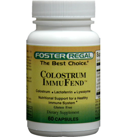 Foster Regal Colostrum Immufend 60 Capsules
