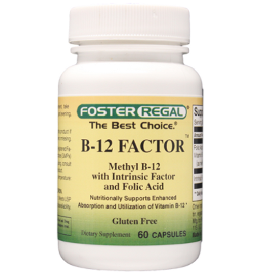 Foster Regal B-12 Factor 60 Capsules