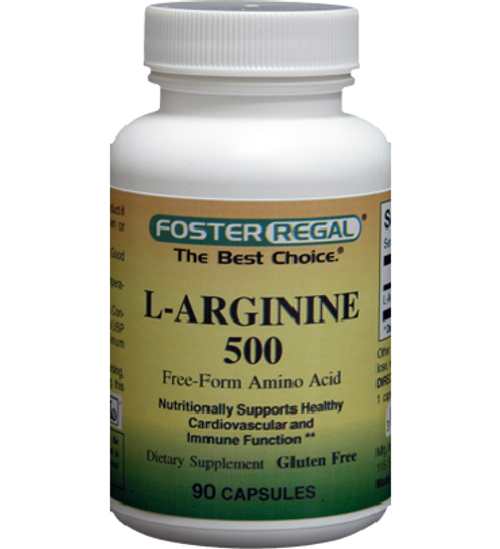 Foster Regal L-Arginine 500 mg 90 Capsules