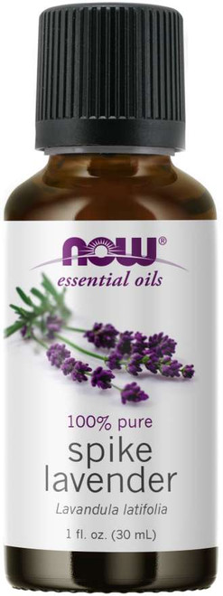 Now Foods Spike Lavender Oil 1oz Liquid #7463