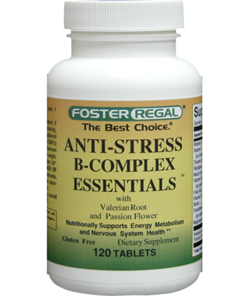 Foster Regal B-Complex Anti-Stress Essentials 120 Tablets