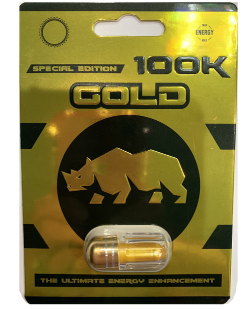 Special Edition Gold 100K Male Enhancement Single Capsule