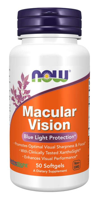 Now Foods Macular Vision 50 Softgels