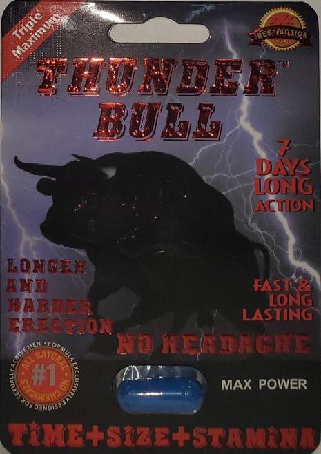 Thunder Bull Male Enhancements Pills 1 Capsule