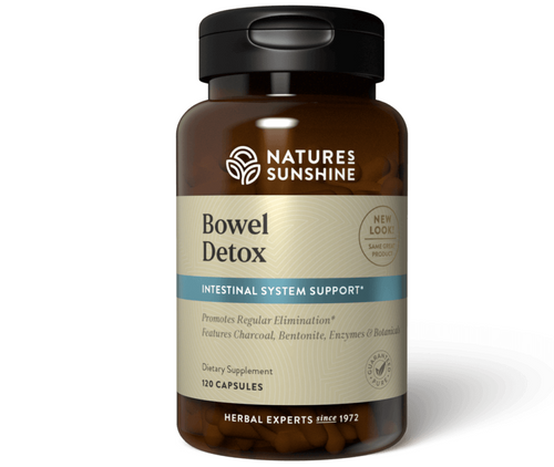 Nature's Sunshine Bowel Detox 120 Capsules