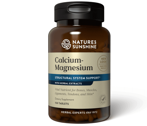 Nature's Sunshine Calcium/Magnesium, SynerPro 150 Tablets