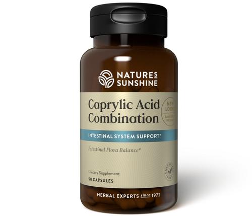 Nature's Sunshine Caprylic Acid Combination 90 Capsules