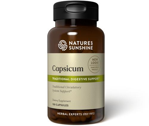 Nature's Sunshine Capsicum 100 Capsules