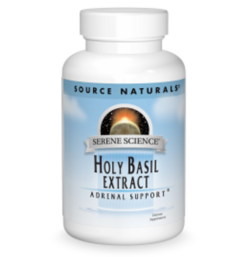 Source Naturals Holy Basil Extract 60 or 120 Capsules