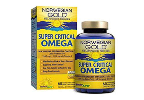 Renew Life Norwegian Gold Super Critical Omega #15407