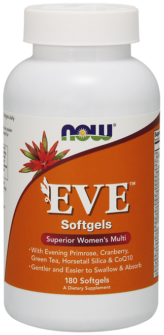Now Foods Eve Women's Multiple Vitamin 180 Softgels #3803