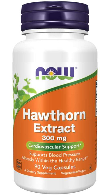 Now Foods Hawthorn Extract 300 mg 90 Vcaps #4708
