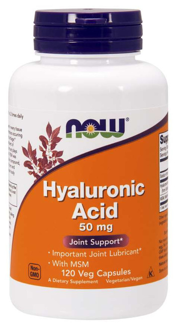 Now Foods Hyaluronic Acid with MSM 120 Vegetarian Capsules #3157