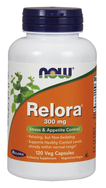 Now Foods Relora 300 mg 120 Vegetarian Capsules #3343, H&M Herbs & Vitamins