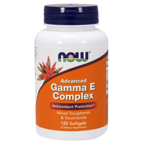 Now Foods Advanced Gamma E Complex 120 Softgels