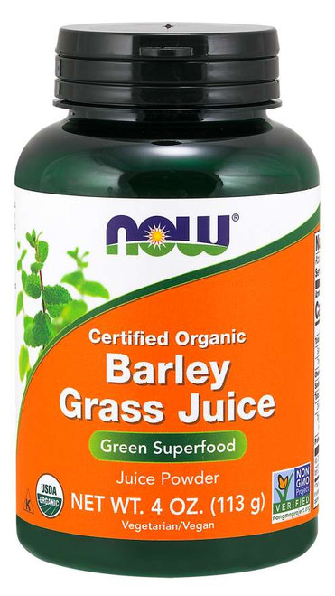 Now Foods Barley Grass Juice Powder 4 oz #2659 upc733739026590