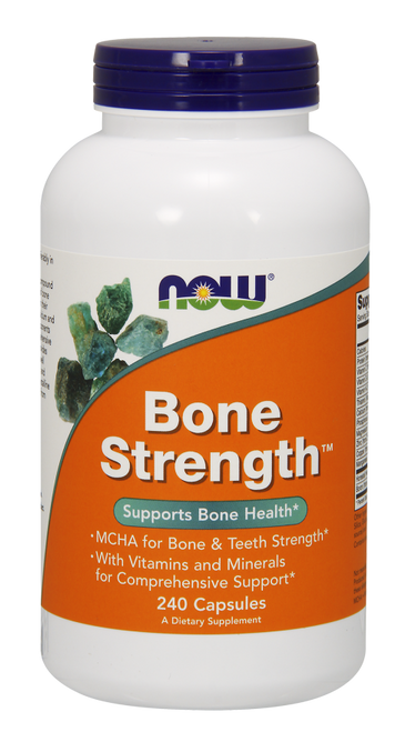 Now Foods Bone Strength 240 Capsules #1229
