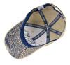 Caesar Guerini Tan Logo Hat-under brim view