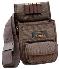 Wild Hare Deluxe Divided Shell Pouch - Hedgwood Brown
