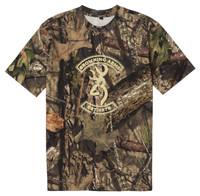 Browning Buckmark Graphic Camo T-Shirt