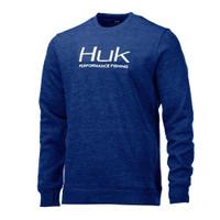 Huk Hull Crew Fleece-Sargasso Sea Grass