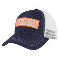 Beretta Patch Trucker Cap-Blue/Orange