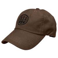 Beretta Waxed Cotton Cap-Brown