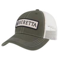 BERETTA PATCH TRUCKER HAT-DARK GREEN
