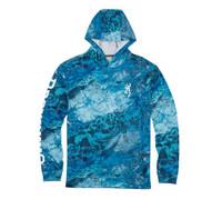 Browning Team Spirit Hoodie-Realtree Wave Blue