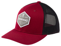 BROWNING BOULDER CAP- RED- Front