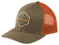 BROWNING BOULDER CAP- GREEN- Front