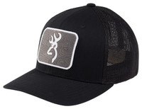 BROWNING CHARTED CAP- BLACK- Front