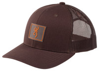 BROWNING BORDER CAP- BROWN- Front