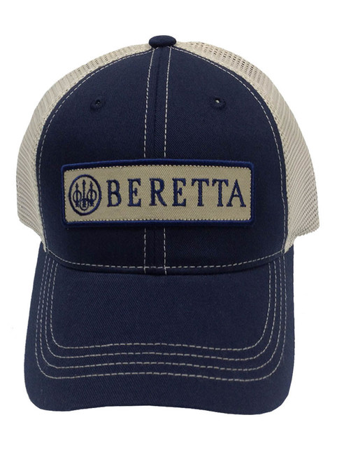 Beretta Patch Trucker Cap-Navy