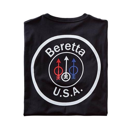 beretta Футболка с логотипом США-черный
