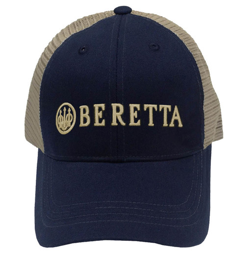Beretta LP Trucker Cap-Navy