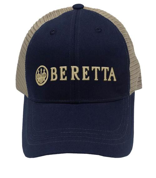 Beretta LP Trucker Trucker Cap-Navy