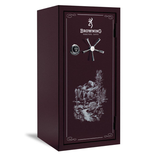 Browning Medallion Series Gun Safe-M33-Black Cherry